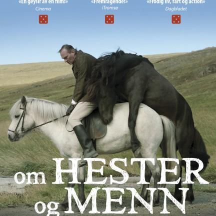 hester og menn