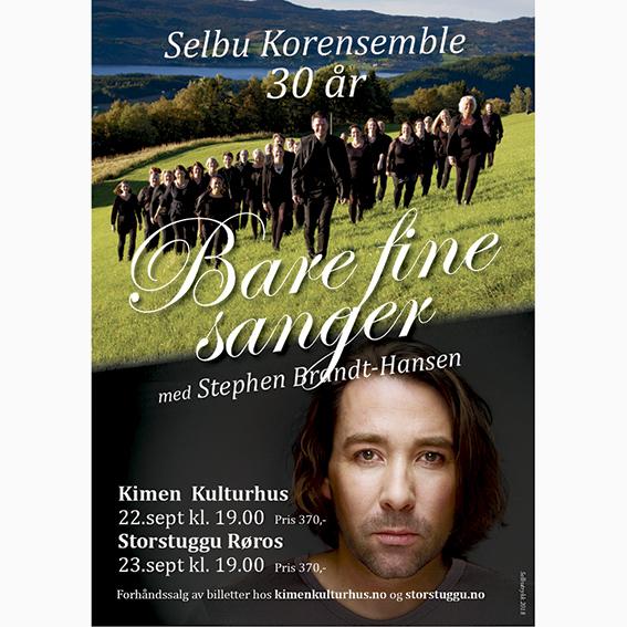 Bare fine sanger – med Selbu Korensemble og Stephen Brandt-Hansen