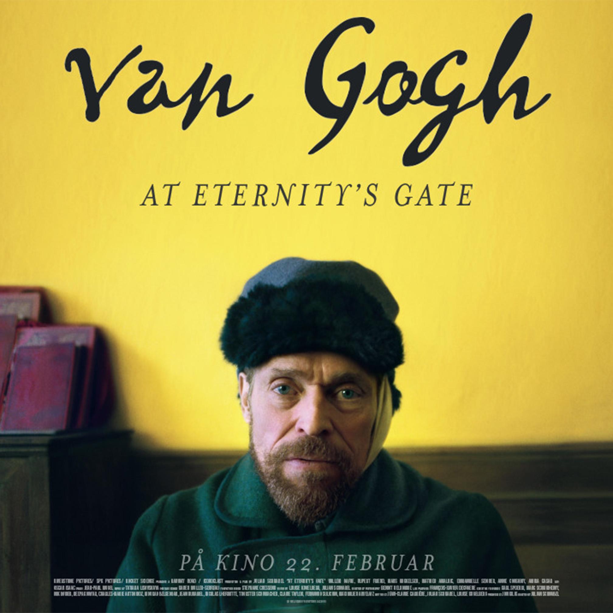 Bergstaden filmklubb: Van Gogh – At Eternity´s Gate