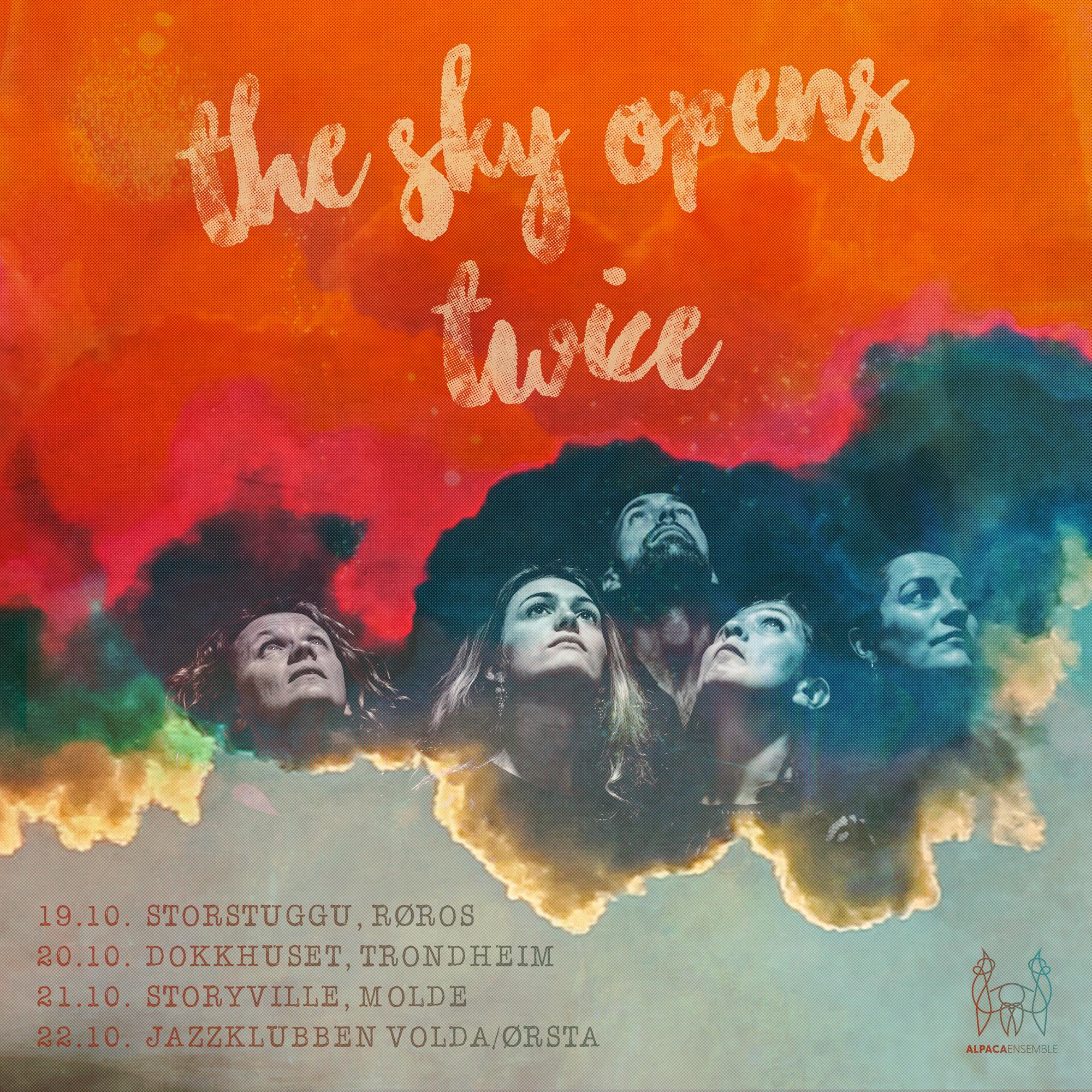Gropa: «The Sky Opens Twice» PLATESLIPP med Alpaca Ensemble! Musikk av Eirik Hegdal og tekster av Thea Ellingsen Grant